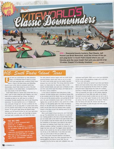 Kiteworld - Classic Downwinders - South Padre Island