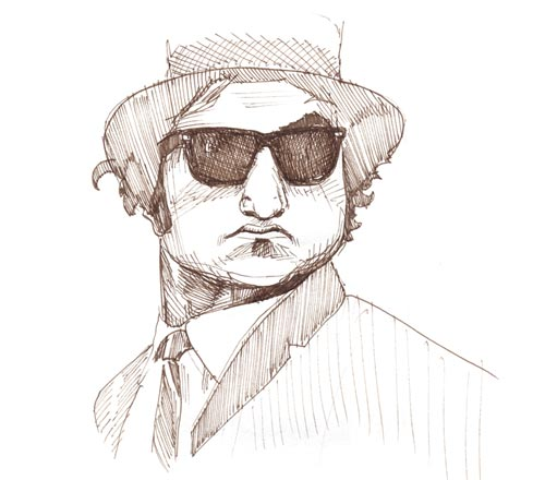 Blues Brothers Drawing