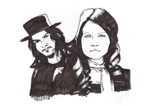 The White Stripes Drawing