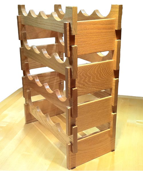 Woodworking woodworking wine rack design PDF Free Download