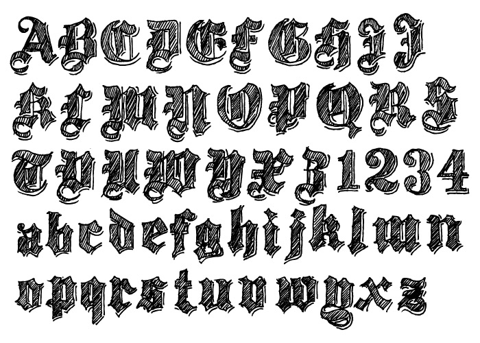 Twenty12 Font Type Design Portfolio