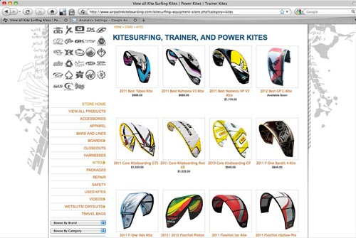 Air Padre Kiteboarding Gear Online Store