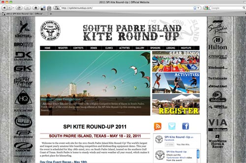 SPI Kite Round-Up Website